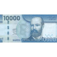 (401) Chili P164 - 10.000 Pesos Year 2020