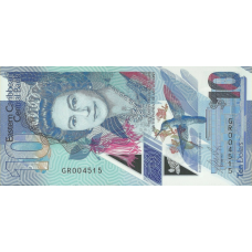 (745) ** PNew East Caribbean States 10 Dollars Year 2019