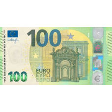 (799) ** PNew European Union 100 Euros Year 2019