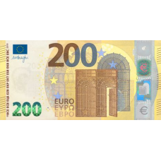 (800) ** PNew European Union 200 Euros Year 2019