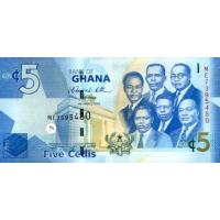 (706) ** PNew Ghana 5 Cedis Year 2019
