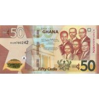 (709) ** PNew Ghana 50 Cedis Year 2019