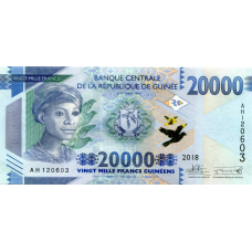 (816) ** PNew Guinea 20.000 Francs Year 2018