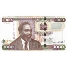 (414) Kenya P41e - 1000 Shilling Year 2010