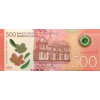 (759) ** PNew Nicaragua 500 Cordobas Year 2019