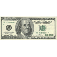 (505) U.S.A. P514 - 100 Dollars Year 2001