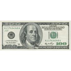 (507) U.S.A. P529 - 100 Dollars (A Series) Year 2006