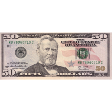 (510) U.S.A. P542 - 50 Dollars Year 2013