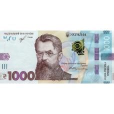 (742) ** PNew Ukraine 1000 Hryvnia Year 2019