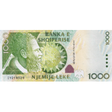 P73 Albania 1000 Leke year 2007
